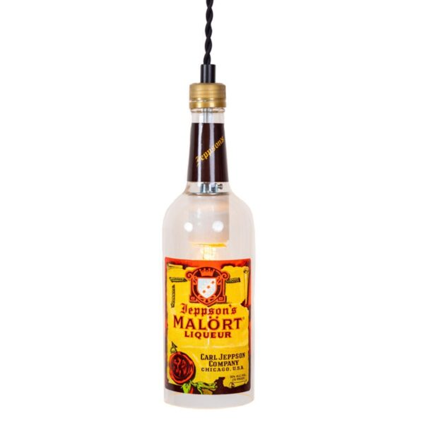Malört Bottle Pendant Light